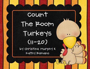 Count the Room Turkeys (11-20)