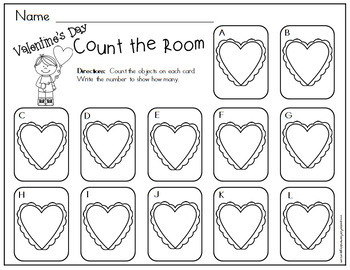 Count the Room - Valentine's Day