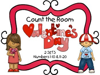 Count the Room - Valentine's Day {K.CC.A.3 & K.NBT.A.1}