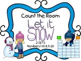 Count the Room - Winter {K.CC.A.3 & K.NBT.A.1}