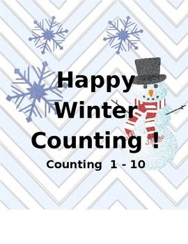 Count the Room-Winter Ten Frames 1-10