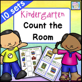 Count the Room BUNDLE Kindergarten Math Centers for ALL YEAR