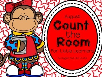 Count the Room for Little Learners (August Edition)
