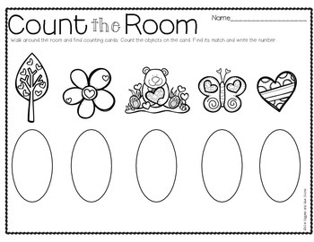 Count the Room for Little Learners February Edition