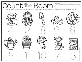 Count the Room for Little Learners (May Edition)