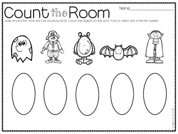 Count the Room for Little Learners (October Edition)