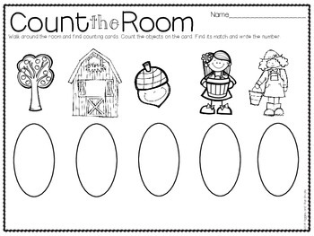 Count the Room for Little Learners (September Edition)