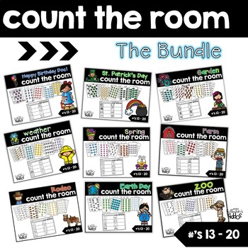 Count the Room #'s 13-20 {The Bundle}