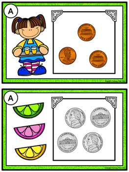 Count the Room with Coins: Pennies - Nickels - Dimes (Lemonade Stand)