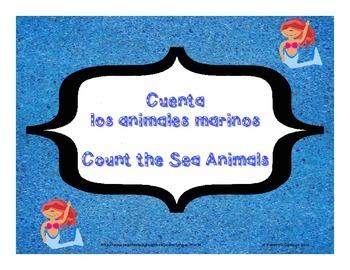 Count the Sea Animals- Cuenta los animales marinos-PP