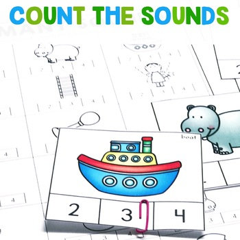 Count the Sounds | Phonemic Awareness Intervention