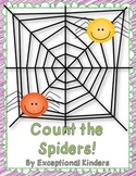 Count the Spiders! A Halloween Math Game Freebie