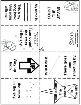 Count the Stars Songbook and Activities
