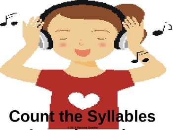 Count the Syllables Powerpoint