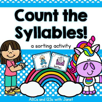 Count the Syllables! {sorting activity}