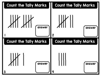 Count the Tally Marks