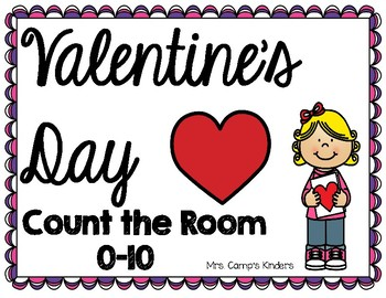 Count the room 0-10/Valentine's Day