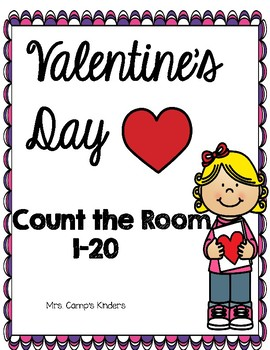 Count the room 1-20/Valentine's day