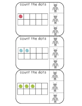 Count the ten frames numbers 1-20 with robot numbers