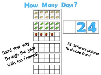 Count the year with ten frames