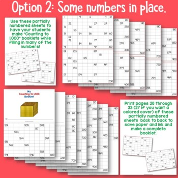 Count to 1,000 Booklet