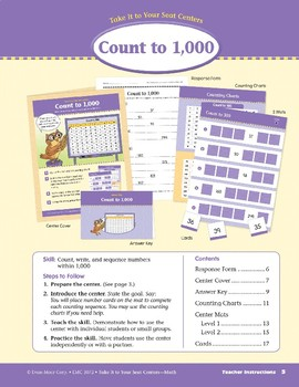 Count to 1,000 (Take It to Your Seat Centers Common Core Math)