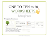 Count to 10 Activity Worksheets