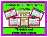 Count to 10 Card Game Collection - 75 Games - Themes & Seasons