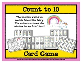 Count to 10 Card Game - Unicorn and Fairy Friends