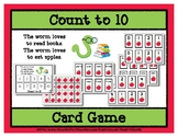 Count to 10 Card Game - Worm Loves Books