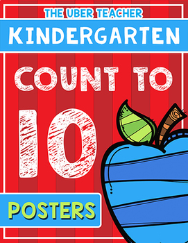Count to 10 Classroom Posters