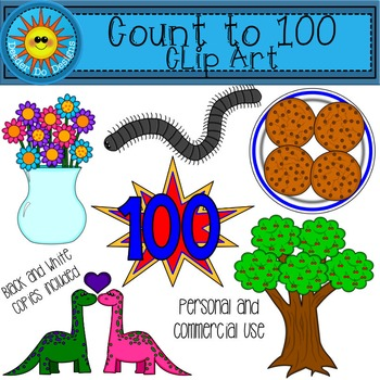 Count to 100 Clip Art