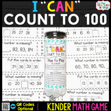Kindergarten Math Game for Counting to 100 - Kindergarten