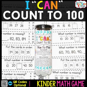 Kindergarten Counting to 100 | Kindergarten Math Centers