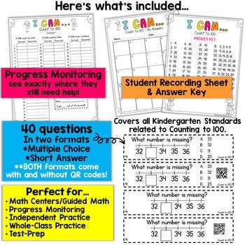 Kindergarten Counting to 100