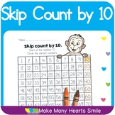 Count to 100 : Skip Count by 10
