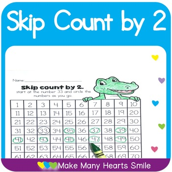Count to 100 : Skip Count by 2