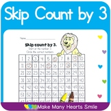 Count to 100 : Skip Count by 3