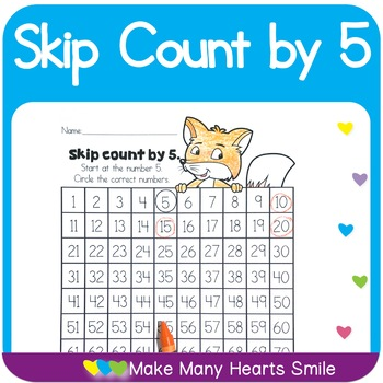 Count to 100 : Skip Count by 5