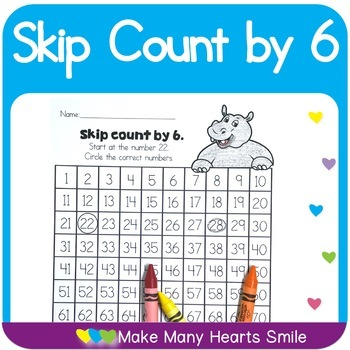 Count to 100 : Skip Count by 6