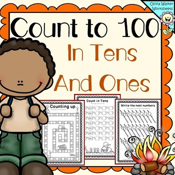 Count to 100 in ones and tens (Skip counting in tens to on