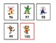 Count to 100 with Circus Clowns - Flashcard Set