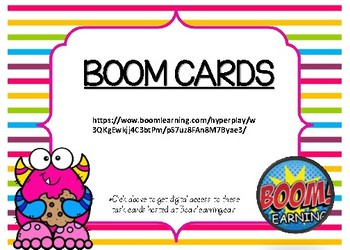 Count to 120 BOOM CARDS
