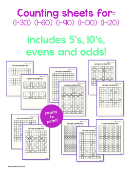 Count to 120!!! PRINT AND GO!