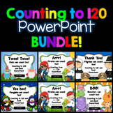 Count to 120 and back PowerPoint {BUNDLE}