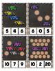 Count to 20 Clip Card Clothes Pin Math Center Printable ~ Car Transportation