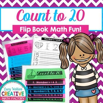 Count to 20 Flip Book | Flipbook | Math | Common Core | No