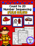 Count to 20 Number Sequencing Activity: Fire Crew