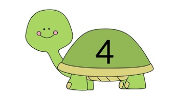 Count to 20 Turtles