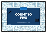 Count to 5 Cut and Paste Activity